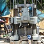 2002年5月頃 白山命水掘削風景 ボーリング機器⑤