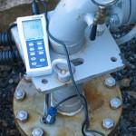白山命水採水地ORP値測定②