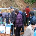 2002年11月中旬 白山命水採水地②