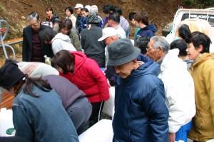 2002年12月下旬 白山命水採水地②