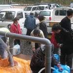 2002年12月下旬 白山命水採水地③